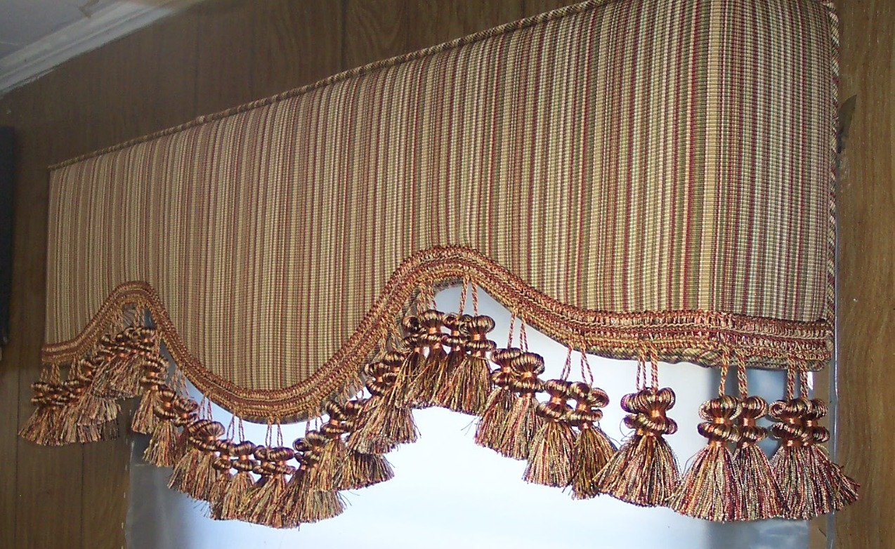 Scottsdale upholstered cornice boards