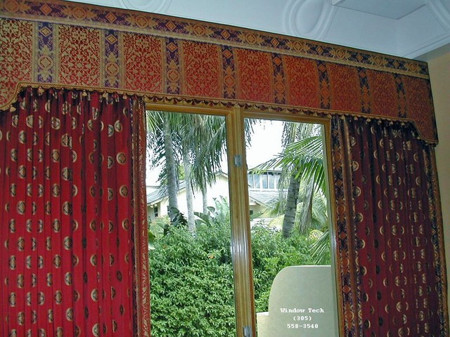 Scottsdale upholstered cornice boards